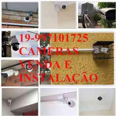 Instalação e manutenção de alarme e cameras de