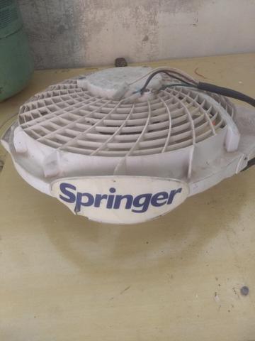 Ventilador de condensadora barril springer funcionado