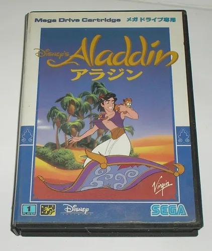Aladdin mega drive original japonesa usada