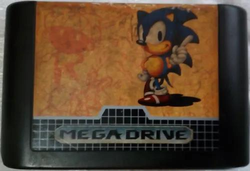 Cartucho mega drive - sonic 1 the hedgehog - tectoy original