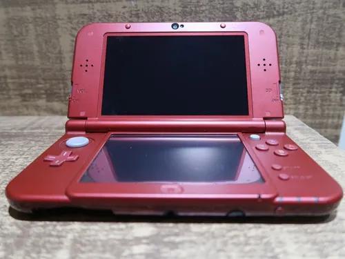 Console nintendo new 3ds xl + carregador + case + jogos