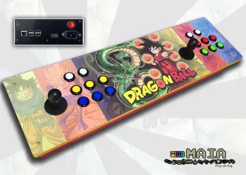 Controle multijogo 8000 jogos fliperama portátil