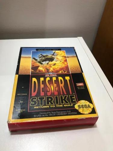 Desert strike mega drive genesis completo original