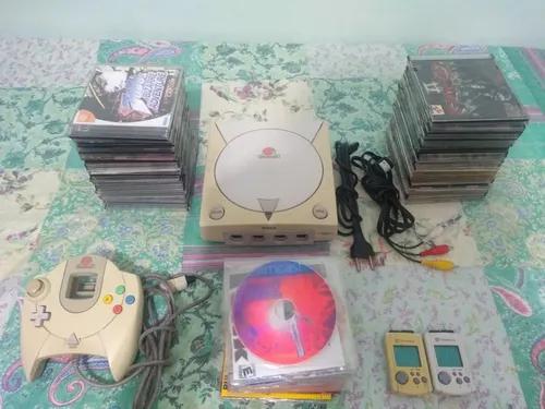 Dreamcast funcionando perfeitamente destravado com 110 cds