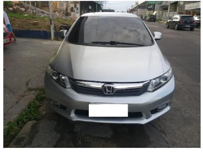 Honda civic entrada r$ 4.300,00 parcela 970,00