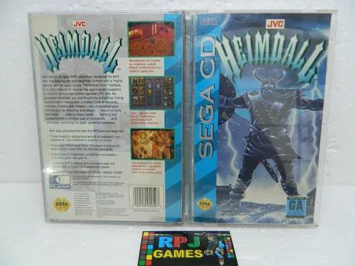 Heimdall original completo p/ sega cd - loja centro rj