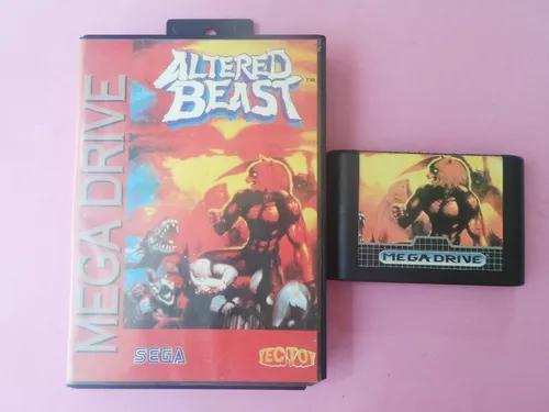Jogo altered beast original c/ caixa tectoy mega drive sega