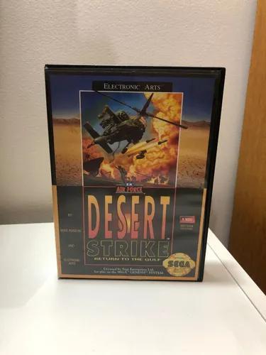 Mega drive desert strike original jogo genesis completo