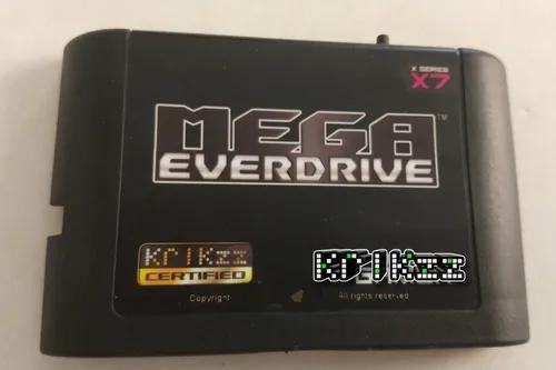 Mega everdrive x7 original krikzz s