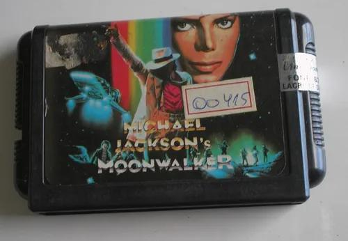 Michael jackson moonwalker original japones mega drive usada