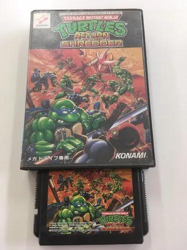 Ninja turtles return of the shredder mega drive original