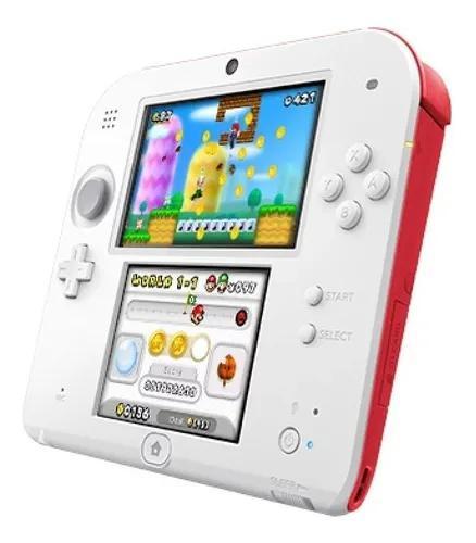 Nintendo 2ds new original 32gb com 500 jogos + carregador