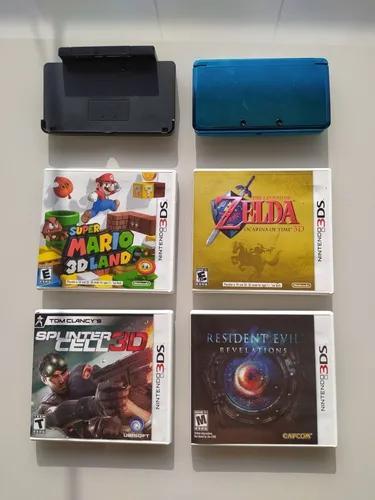 Nintendo 3ds + 4 jogos