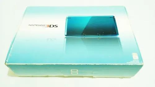 Nintendo 3ds aqua blue original completo na caixa