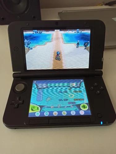 Nintendo 3ds azul desbloqueado perfeito! + 2 jogos originais
