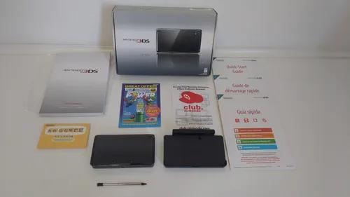 Nintendo 3ds cosmo black + jogos na m