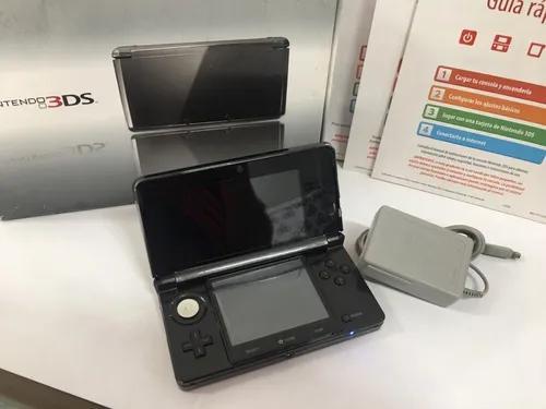Nintendo 3ds desbloqueado 32gb 20 jogos com caixa e manual