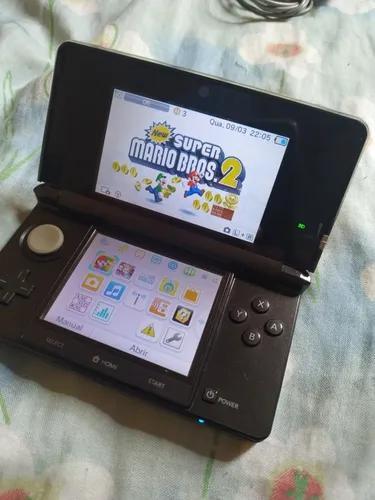 Nintendo 3ds + flash card desbloqueio sky3ds jogos