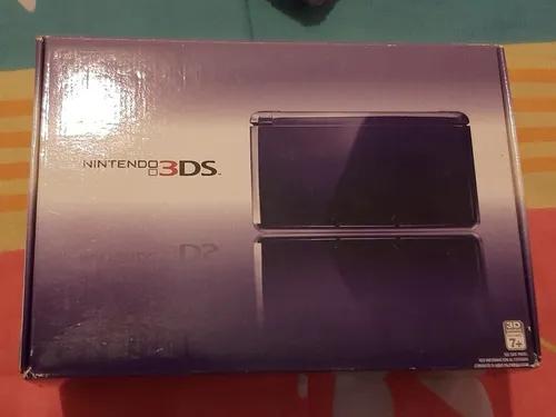 Nintendo 3ds roxo bloqueado perfeito e completo