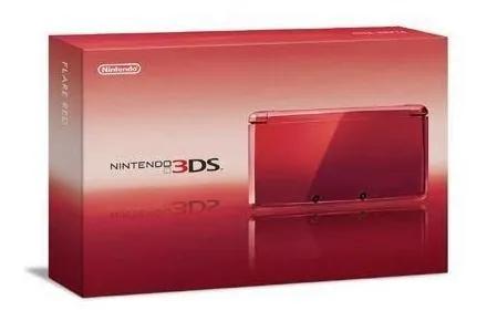 Nintendo 3ds vermelho impecável na caixa original