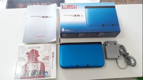 Nintendo 3ds xl completo na caixa funcionando 100%