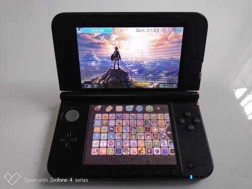 Nintendo 3ds Xl Edição Azul 32gb 300 Jogos