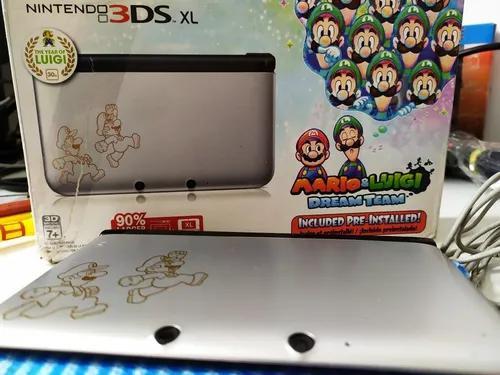 Nintendo 3ds xl edição especial 32 gb+ caixa +