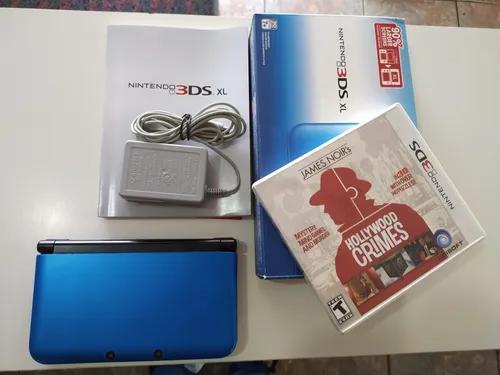 Nintendo 3ds xl na caixa completo.s