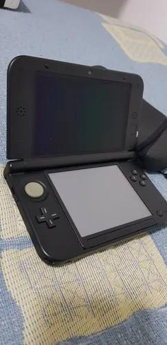 Nintendo 3ds xl preto + jogos