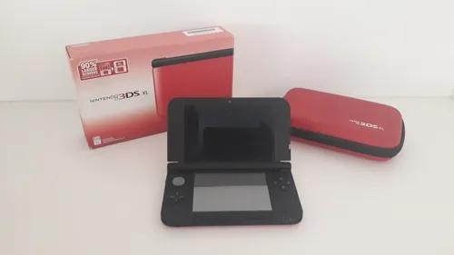 Nintendo 3ds xl vermelho - modelo americano