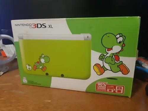 Nintendo 3ds xl yoshi edition na caixa
