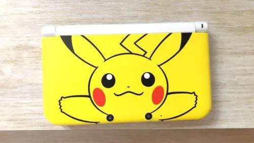 Nintendo 3ds xl (old) versão exclusiva pikachu desbloqueado
