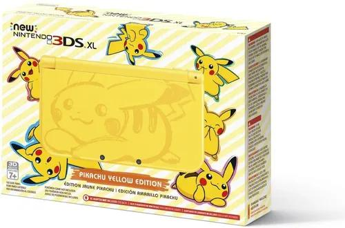 Nintendo new 3ds xl pikachu edition