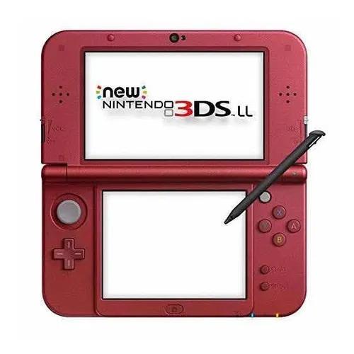 Nintendo new 3ds xl vermelho