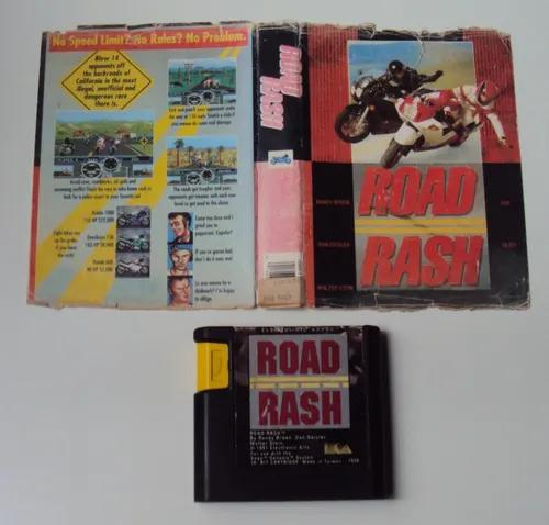 Road rash original americano com encarte paralelo