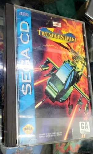 Sega cd game thunderstrike original
