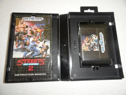 Sega mega drive streets of 2 rage genesis original 100%
