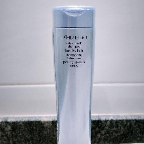 Shampoo shiseido cabelos secos