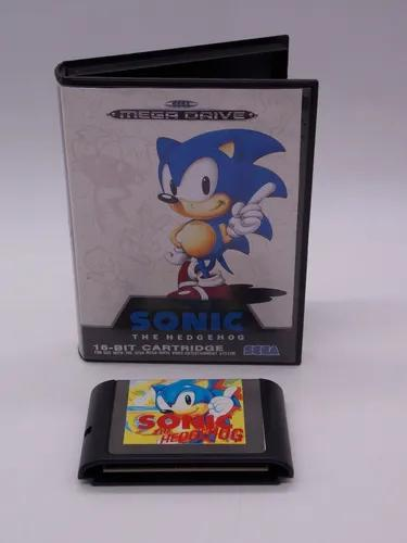 Sonic the hedgehog mega drive mídia física