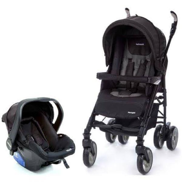 Travel system carrinho + bebê conforto perugia duo infanti