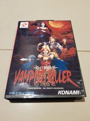Vampire killer mega drive reprogramado