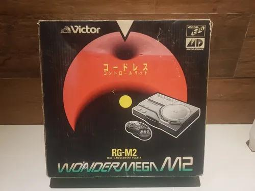 Wondermega rg-m2 completo na caixa zerado!! serial batendo