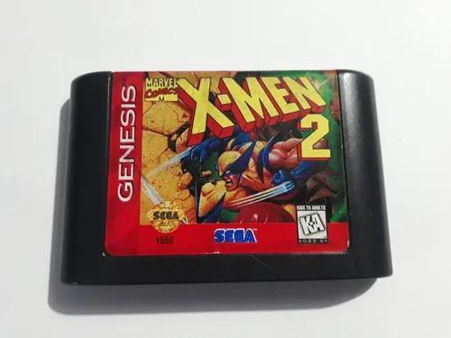 X-men 2 sega genesis mega drive original