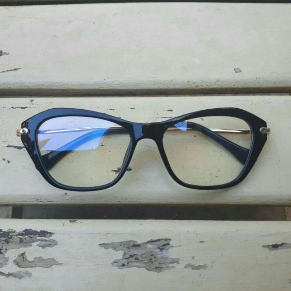 Armação de óculos grau gatinho