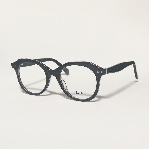 Armação para óculos de grau feminina céline preto brilho