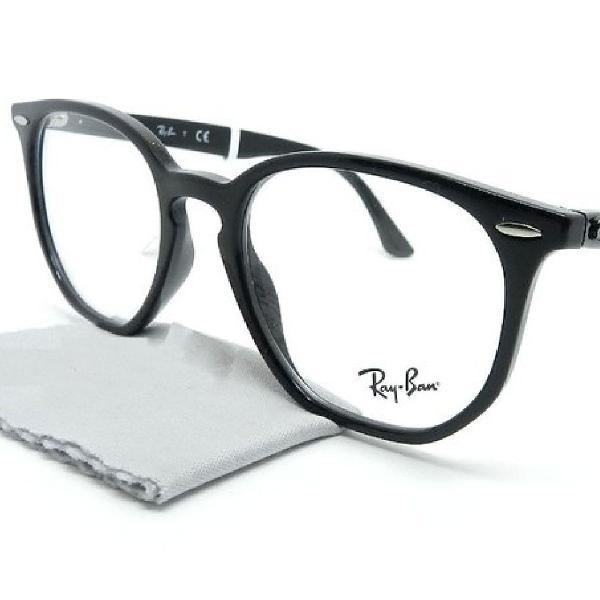 Culos armação p/grau ray-ban rb7151 preto