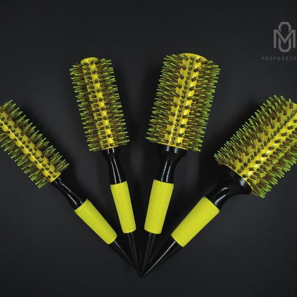 Kit 4 escovas profissionais para cabeleireiro