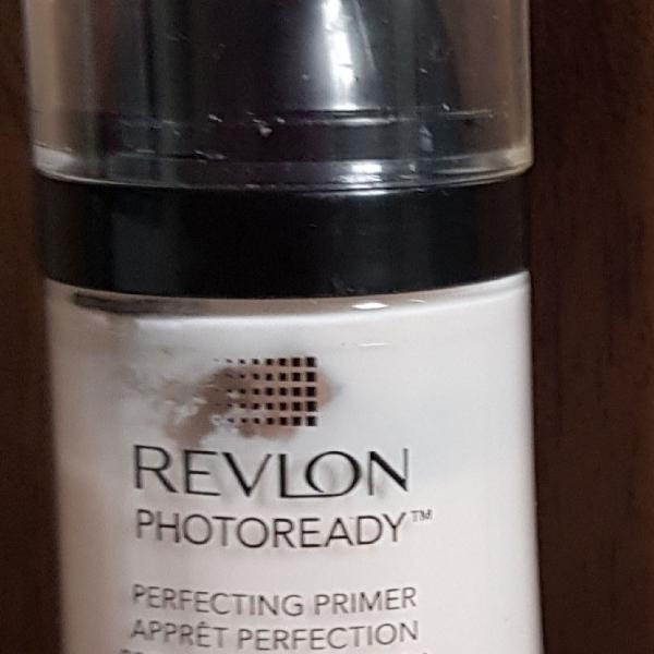 Primer revlon photoready + aparelho de limpeza facial o
