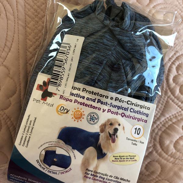 Roupa cirurgica para cachorros