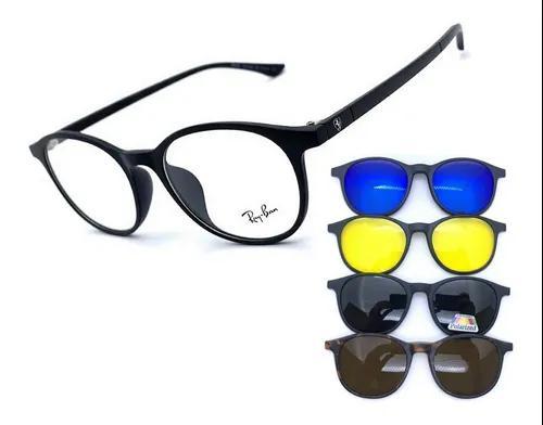 Armação oculos grau solar redondo 6